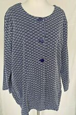 Adini 100% Cotton woven pattern coat long sleeves 3 button front collarless