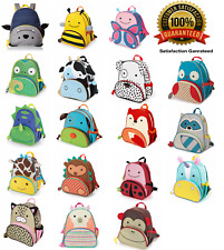 Skip Hop Zoo Pack Childrens Animal Back Pack For School or Nursery in 20 Themes⭐