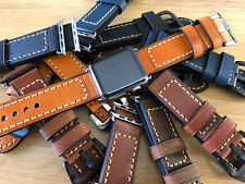 For Apple Watch Series 4 3 2 38/40/42/44mm Replacement Leather Watch Strap Band
