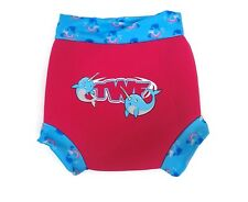 TWF Girls Unicorn Whale Deaign Swim Nappy Cover