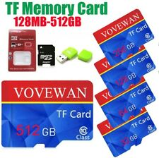 Micro TF Flash Memory Card SD Card Class10  8GB-512GB for Camera Cell Phone Lot
