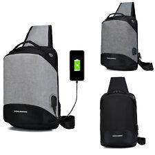 USB Port Charge Sac à dos Backpack Laptop Ordinateur Portable Camping Voyage