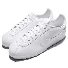 Nike Classic Cortez Leather Triple White Men Running Shoes Sneakers 749571-111