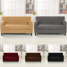 Soft Stretch Elastic 2-Piece Sofa Love Seat Chair Slipcover Couch Seat Cover