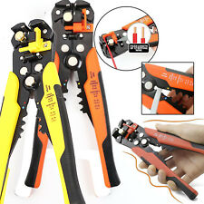 Adjustable Automatic Cable Wire Crimper Stripper Plier Cutter RJ45 Crimping Tool