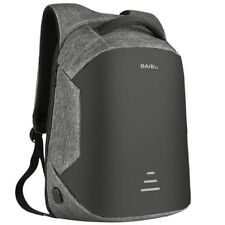 Anti Theft Laptop Notebook Backpack Bag Travel Bag With USB Charger