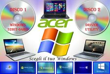 Acer Aspire 3510 Ripristino Recovery Notebook Driver + Utility Windows XP