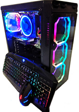 Custom Gaming PC Desktop Computer - NVIDIA GTX 1070, Ryzen 3.70Ghz, SSD, Win 10