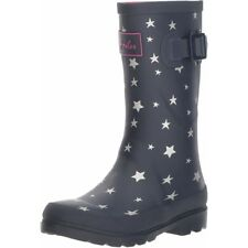 Joules Printed Welly Falling Star Marine Française Caoutchouc Junior