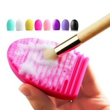 Makeup Brush Cleaning Washing Tools Board Cosmetics Makeup Brushes Scrubber Boar