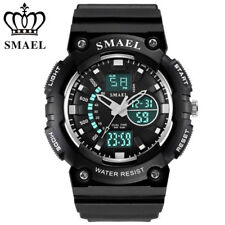 SMAEL Outdoor Sports Watches Waterproof LED Watch S Shock Resisitant Mens