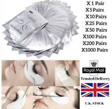 Eyelash Extensions Pads Under Eye Lash Gel Lint Free Eye Patches Pad 20 40 Pairs