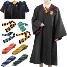 Harry Potter Hogwarts Cloak Robe Tie Scarf Fancy Dress Cosplay Halloween Costume