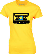 Brand88 - Tape Number 13, Ladies Printed T-Shirt