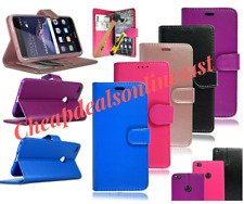 For ZTE BLADE V8 V7 V7 Lite Leather Book Flip Stand Case Cover & Tempered Glass