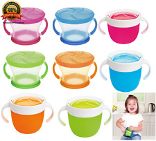 Munchkin Click Lock Deluxe Snack Catcher Container with Twist-On, Stay Put Lid