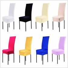 1 Piece Polyester Spandex Dining Chair Covers For Wedding Party Chair Cover Brow