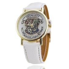 MONTRE QUARTZ HARRY POTTER HOGWARTS POUDLARD BRACELET EN CUIR LEATHER