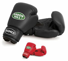 GUANTES BOXEO NIÑO GREEN HILL HAMED DE KICK BOXING JUNIOR