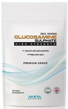 PREMIUM Glucosamine Sulphate 1500mg 2KCL HIGH STRENGTH Support