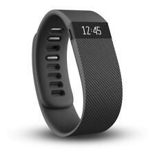Fitbit Charge Wireless Activity Wristband Tracker Monitor Black Large New