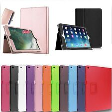 For Apple iPad 9.7 (2017/18/Air 2/Air Leather  Stand Flip Cover Case iPad mini 2