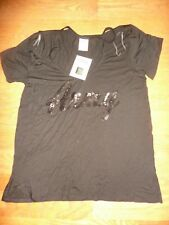 "VICTORIAS SECRET PINK RARE BLING""U.S.ARMY""SUPER SOFT OPEN SHOULDER TEESHIRT NWT"