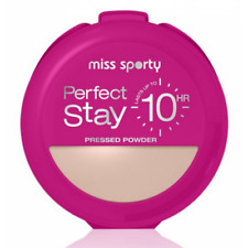 MISS SPORTY  SO MATTE PERFECT STAY PRESSED POWDER FACE MEDIUM 002 - BRAND NEW BN