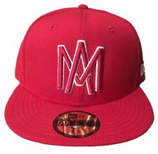 New Era Aguilas De Mexicali 59FIFTY Fitted Hat Red LMB Mexico Baseball Cap 29dbd9fc41b