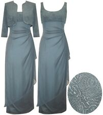 Mother of the Bride/Groom Dress, Petite Size Long Evening Occasion Gowns - 10P