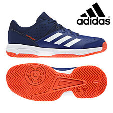 bf2371647a84 Adidas Junior Court Stabil Tennis Shoes Kids Indoor Sports Gym Trainers  AC7466
