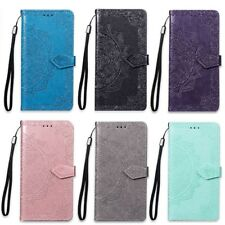 COQUE ETUI HOUSSE PORTEFEUILLE MANDALA LUXE CUIR NEUF SAMSUNG S5 S6 S7 EDGE S9 +