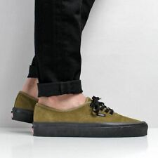 f47ae08a94 Vans Men s New Authentic 44 DX Suede Black Outsole Shoes Olive Green