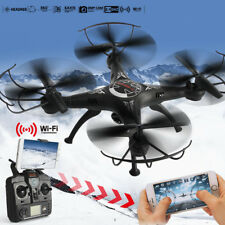 2.4G 4CH 6-Axis FPV RC Drone Quadcopter Wifi Camera Real Time 2 Control Modes
