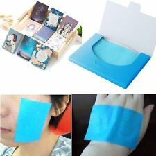 50 Sheets Make Up Oil Absorbing Blotting Facial Face Clean Paper Beauty Top F7