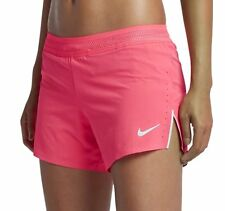 "NIKE AEROSWIFT 4"" WOMEN RUNNING GYM RACER PINK DRI FIT SHORTS 898270-617 -M L XL"