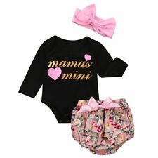 Romper Jumpsuit Bodysuit Diaper Cover Pants Newborn Baby Girls Clothings Outfits