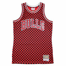 M&N Swingman Basketball Jersey Chicago Bulls NBA black red Trikot