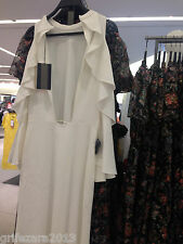 ZARA STUDIO LONG DRESS WITH OFF-SHOULDER FRILL SIZE S Ref.2636/682 BLOGGERS