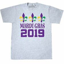 Inktastic 2019 Mardi Gras Celebration Party T-Shirt Parade Holiday New Orleans