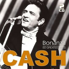 JOHNNY CASH - Bonanza - 50 Greatest Hits, 2 Audio-CD