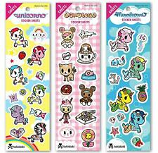 Re-marks Tokidoki Sticker Sheet (3 pack) 3 Sheets Each (9 Sheets Total)