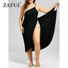 Plus Size Beach Cover Up Wrap Dress Bikini Swimsuit Bathing Suit Cover Ups Robe