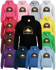 Fortnight Inspired Kids Hooded Tops Available In Multiple Colours and Sizes.