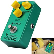 JOYO JF - 01 True Bypass Design Vintage Overdrive Guitar Effect Pedal with