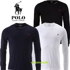 Ralph Lauren Polo Men's Long Sleeve Crew Neck T-Shirt New With Tags