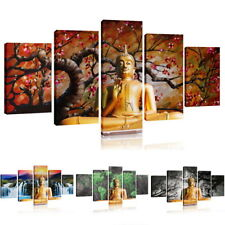 Frameless BUDDHA Modern Wall Decor Art Oil Painting On Canvas Abstract Painting