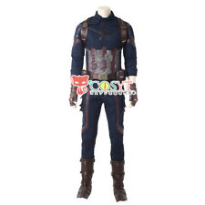 Avengers Infinity War Captain America Steve Rogers Cosplay Costume For Halloween