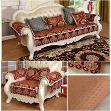 European Style 1/2/3/4 Sofa Couch Slipcover Stretch Covers Elastic Protector Fit