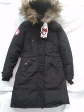 CANADA WEATHERGEAR WOMEN'S BLACK HOODED INSULATED PARKA (REG & PLUS) NWT
